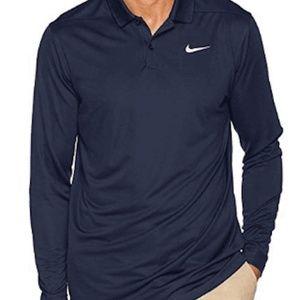 Nike Mens Victory Long Sleeve Polo Golf Shirt XXL